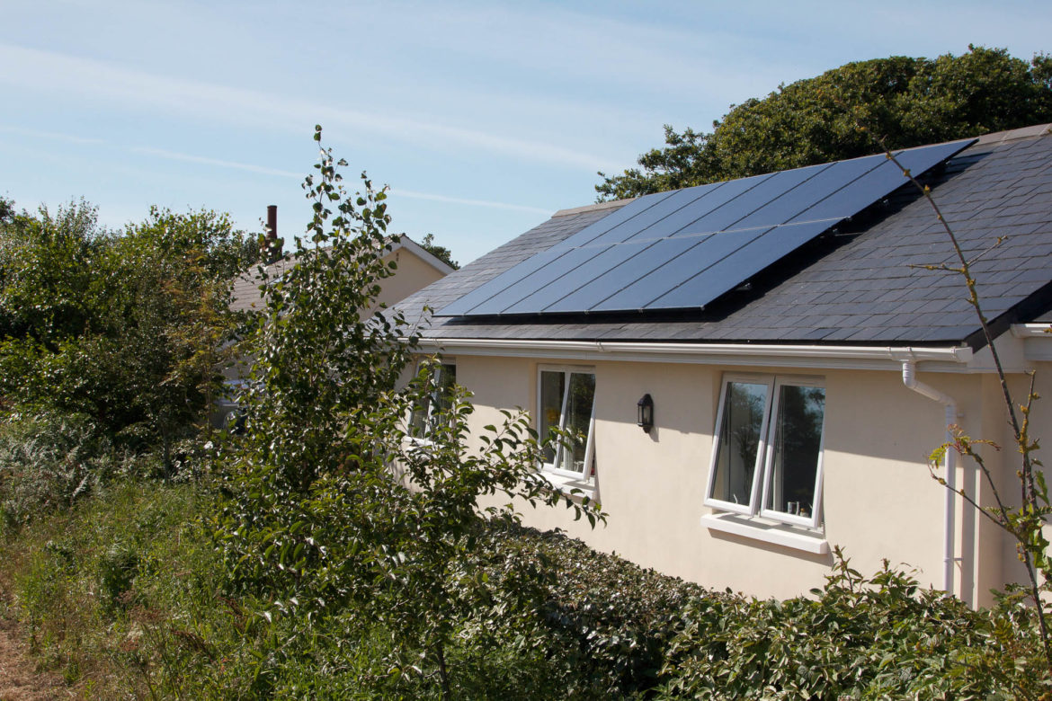 Pitched Roof Over Roof System Sun Works Channel Islands